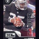 2002 Upper Deck XL Football #330 Charlie Garner - Oakland Raiders