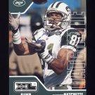 2002 Upper Deck XL Football #316 Matthew Hatchette - New York Jets