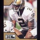 2002 Upper Deck XL Football #280 Aaron Brooks - New Orleans Saints