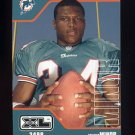 2002 Upper Deck XL Football #249 Travis Minor - Miami Dolphins