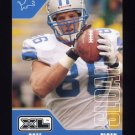 2002 Upper Deck XL Football #167 David Sloan - Detroit Lions
