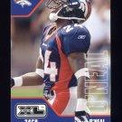 2002 Upper Deck XL Football #151 Deltha O'Neal - Denver Broncos