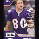 2002 Upper Deck XL Football #033 Brandon Stokley - Baltimore Ravens