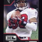 2002 Upper Deck XL Football #016 Ashley Ambrose - Atlanta Falcons