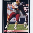 1992 Pinnacle Football #207 Jim Lachey - Washington Redskins