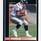 1992 Pinnacle Football #118 Erric Pegram - Atlanta Falcons