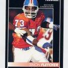 1992 Pinnacle Football #037 Simon Fletcher - Denver Broncos