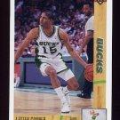 1991-92 Upper Deck Basketball #381 Lester Conner - Milwaukee Bucks