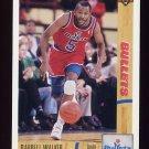 1991-92 Upper Deck Basketball #367 Darrell Walker - Washington Bullets