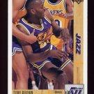 1991-92 Upper Deck Basketball #308 Tony Brown - Utah Jazz