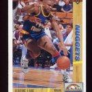 1991-92 Upper Deck Basketball #295 Jerome Lane - Denver Nuggets