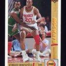 1991-92 Upper Deck Basketball #273 Kennard Winchester RC - Houston Rockets