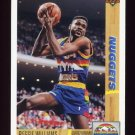 1991-92 Upper Deck Basketball #206 Reggie Williams - Denver Nuggets