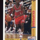 1991-92 Upper Deck Basketball #195 Gary Grant - Los Angeles Clippers