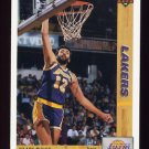 1991-92 Upper Deck Basketball #175 Vlade Divac - Los Angeles Lakers
