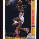1991-92 Upper Deck Basketball #161 Charles Smith - Los Angeles Clippers
