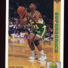 1991-92 Upper Deck Basketball #156 Ricky Pierce - Seattle Supersonics