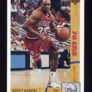 1991-92 Upper Deck Basketball #155 Hersey Hawkins - Philadelphia 76ers