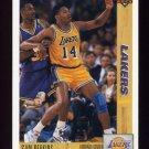 1991-92 Upper Deck Basketball #144 Sam Perkins - Los Angeles Lakers