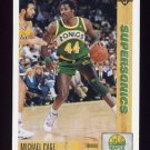 1991-92 Upper Deck Basketball #127 Michael Cage - Seattle Supersonics