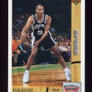 1991-92 Upper Deck Basketball #025 Sean Higgins RC - San Antonio Spurs