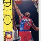 1993-94 Upper Deck Basketball #427 Clarence Weatherspoon - Philadelphia 76ers