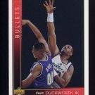 1993-94 Upper Deck Basketball #370 Kevin Duckworth - Washington Bullets