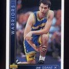 1993-94 Upper Deck Basketball #363 Josh Grant RC - Golden State Warriors