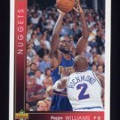 1993-94 Upper Deck Basketball #327 Reggie Williams - Denver Nuggets