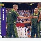 1993-94 Upper Deck Basketball #224 Milwaukee Bucks Schedule