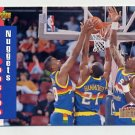 1993-94 Upper Deck Basketball #216 Denver Nuggets Schedule