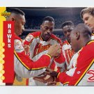 1993-94 Upper Deck Basketball #210 Atlanta Hawks Schedule