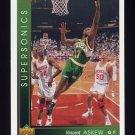 1993-94 Upper Deck Basketball #138 Vincent Askew - Seattle Supersonics