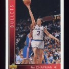 1993-94 Upper Deck Basketball #135 Rex Chapman - Washington Bullets
