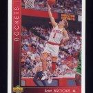 1993-94 Upper Deck Basketball #131 Scott Brooks - Houston Rockets