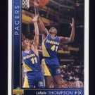 1993-94 Upper Deck Basketball #066 LaSalle Thompson - Indiana Pacers