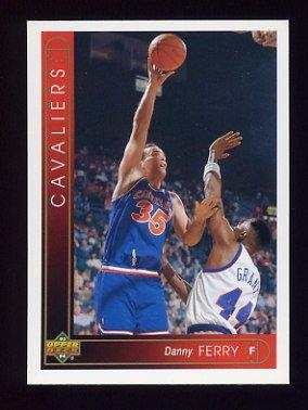 1993-94 Upper Deck Basketball #046 Danny Ferry - Cleveland Cavaliers