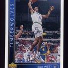 1993-94 Upper Deck Basketball #041 Doug West - Minnesota Timberwolves