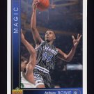 1993-94 Upper Deck Basketball #033 Anthony Bowie - Orlando Magic