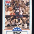 1990-91 Fleer Basketball #117 Mookie Blaylock RC - New Jersey Nets