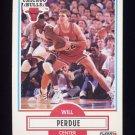 1990-91 Fleer Basketball #029 Will Perdue - Chicago Bulls