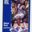 1991-92 Fleer Basketball #319 Gerald Glass - Minnesota Timberwolves