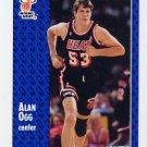 1991-92 Fleer Basketball #308 Alan Ogg - Miami Heat