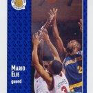 1991-92 Fleer Basketball #286 Mario Elie RC - Golden State Warriors