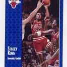1991-92 Fleer Basketball #258 Stacey King - Chicago Bulls