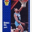 1991-92 Fleer Basketball #232 Kendall Gill - Charlotte Hornets