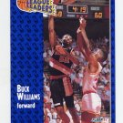 1991-92 Fleer Basketball #224 Buck Williams - Portland Trail Blazers