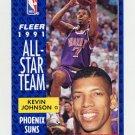 1991-92 Fleer Basketball #210 Kevin Johnson - Phoenix Suns