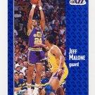 1991-92 Fleer Basketball #200 Jeff Malone - Utah Jazz
