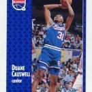 1991-92 Fleer Basketball #175 Duane Causwell - Sacramento Kings